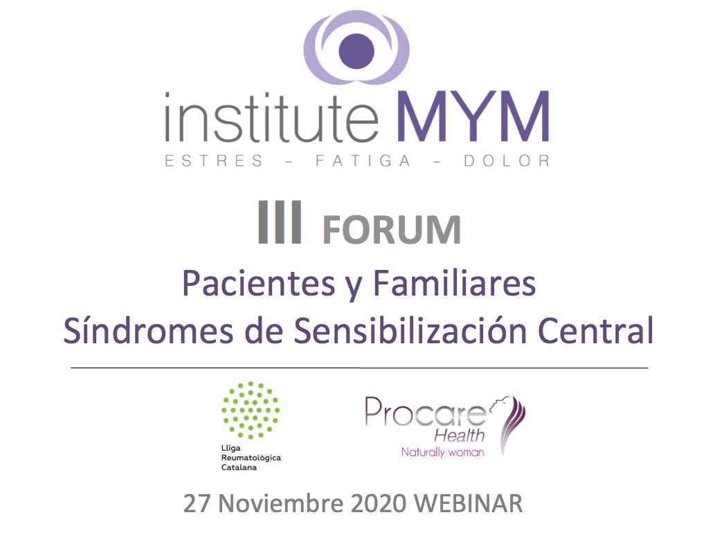III Forum de pacientes y familiares con Síndromes de Sensibilización Central